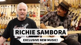 RICHIE SAMBORA EXCLUSIVE NEW MUSIC!