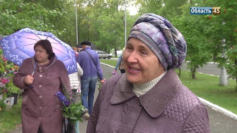 Курган надо засадить гортензиями Жители несут городу цветы в День рождения