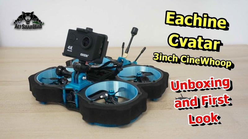First Look Eachine Cvatar 3 Inch Ducted Fan CineWhoop Racing drone