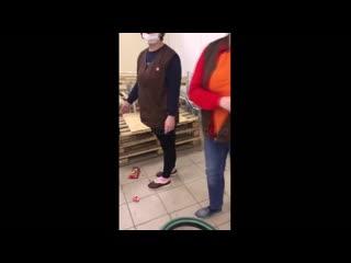 Конфликт с сотрудниками Дикси. Белоусово