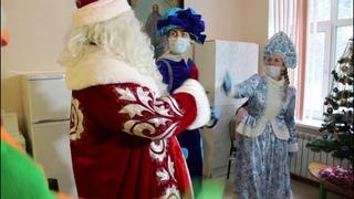 Праздник для детей, которые накануне Нового года оказались в стенах Московской областной больницы