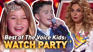 WATCH PARTY: MOST VIEWED Blind Audition in EVERY COUNTRY! 🤩❤️ | The Voice Kids