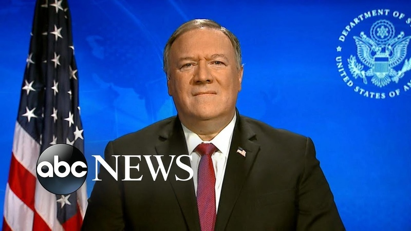 China's coronavirus response was a 'classic communist disinformation effort': Pompeo | ABC News