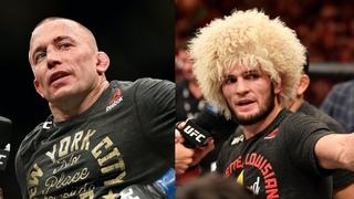 Жорж Сен-Пьер о возвращении в UFC для боя с Хабибом, Исраэль Адесанья о завершении карьеры