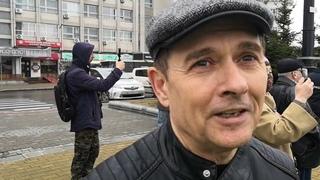 Хабаровск, . Митинг на Комсомольской площади в поддержку С.И.Фургала, взгляд изнутри-часть 1