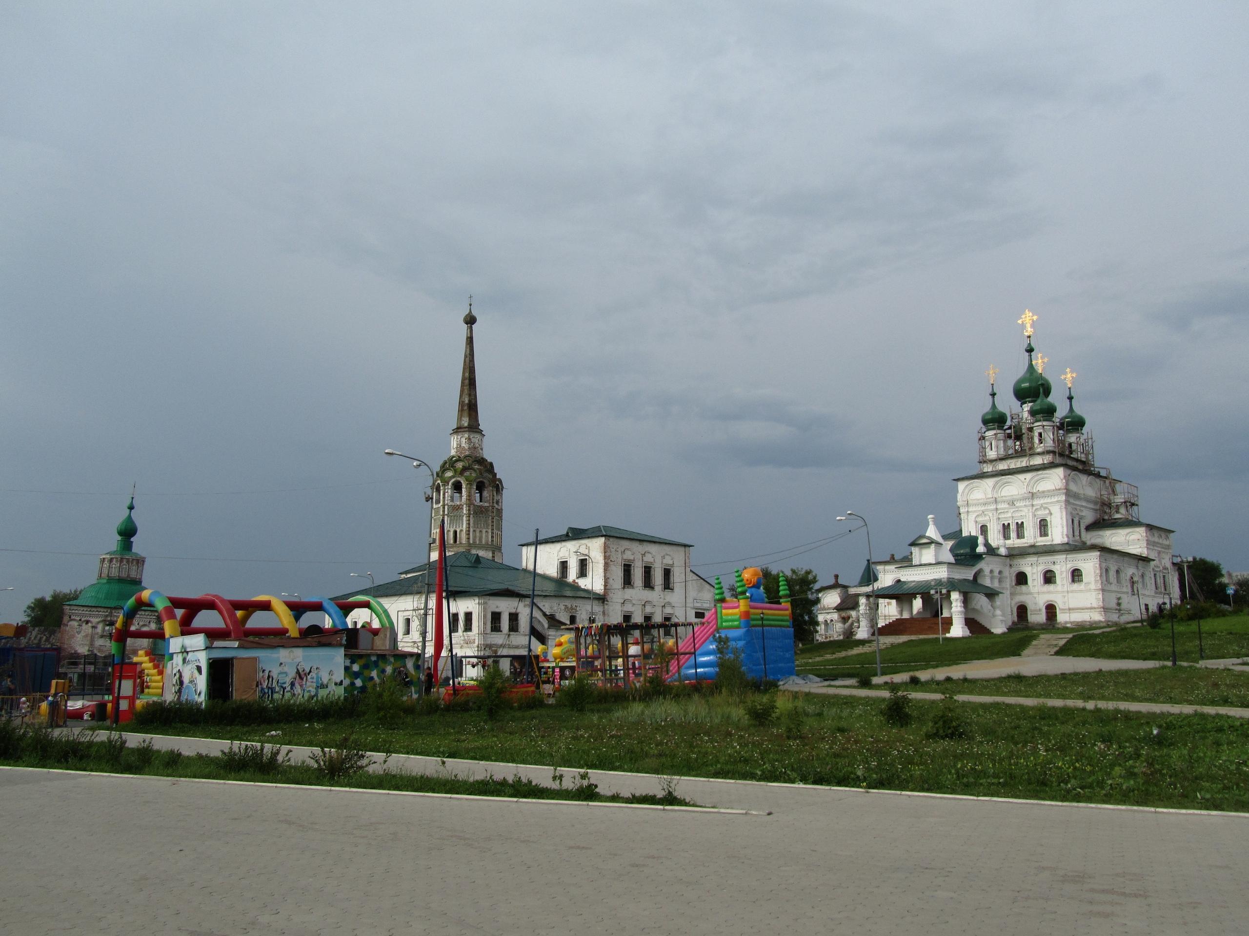 Соликамск Ансамбль старинной архитектуры