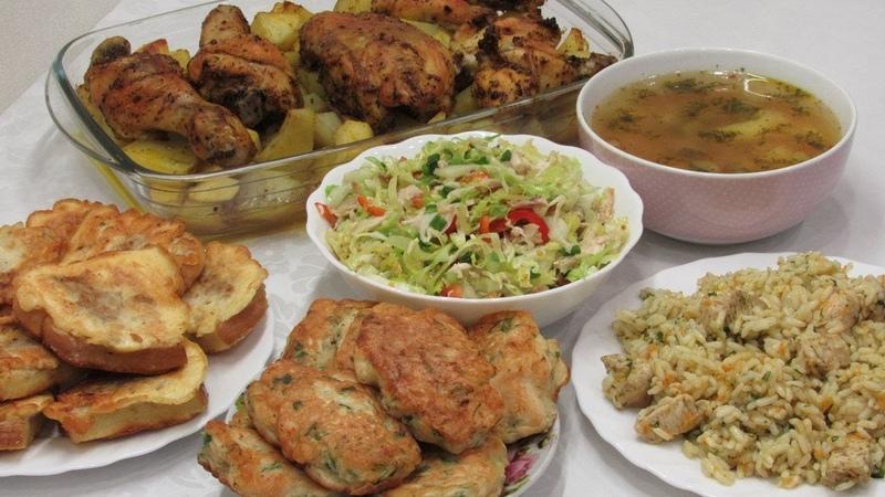 ТАК ДЕЛАЕТЕ 6 блюд из ОДНОЙ КУРИЦЫ Быстро Бюджетно и Вкусно или Что приготовить из курицы