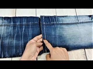 3 Hand Embroidery Jeans Hand Bag | Old Cloth Reuse Ideas