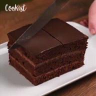 id_38557 Шоколадный торт с кофейным ароматом 🍫☕  Автор: Cookist  #gif@bon