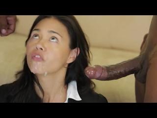 ПОРНО -- ЕЙ 42 -- ДВА НЕГРА ЗАГИПНОТЕЗИРОВАЛИ ЗРЕЛУЮ ПОТДАТЛИВУЮ БАБУ -- мжм --  porn sex milf -- Dana Vespoli