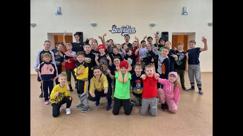 Мастер класс Малюга   школа уличного танца Seventeen   Танцы Нижний Тагил