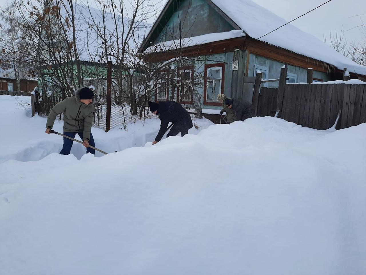 Петровские волонтёры продолжают помогать пожилым горожанам