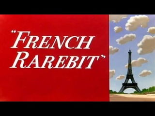 """Bugs Bunny vs. Chefs Louis and Francois in """"French Rarebit"""", 1951, full cartoon."""
