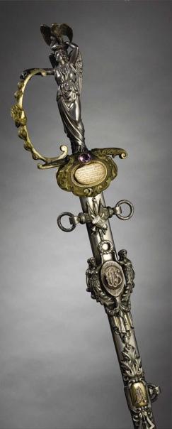 Меч Улисса Гранта периода Гражданской войны Улисс Грант получил этот меч в 1864 году в подарок от жителей Кентукки, когда он занял должность генерал-главнокомандующего армий Соединенных Штатов.