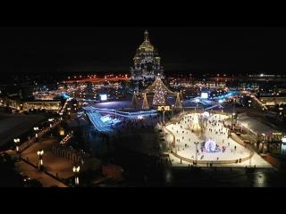 Сергей Шойгу открыл зимний фестиваль в подмосковном парке «Патриот»