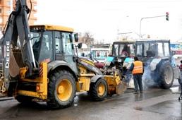 Почти 100 000 квадратных метров дорог и тротуаров отремонтировали в Липецке с начала года