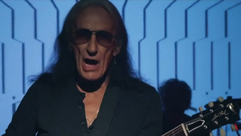 KEN HENSLEY Right Here Right Now official video 27 05 2021