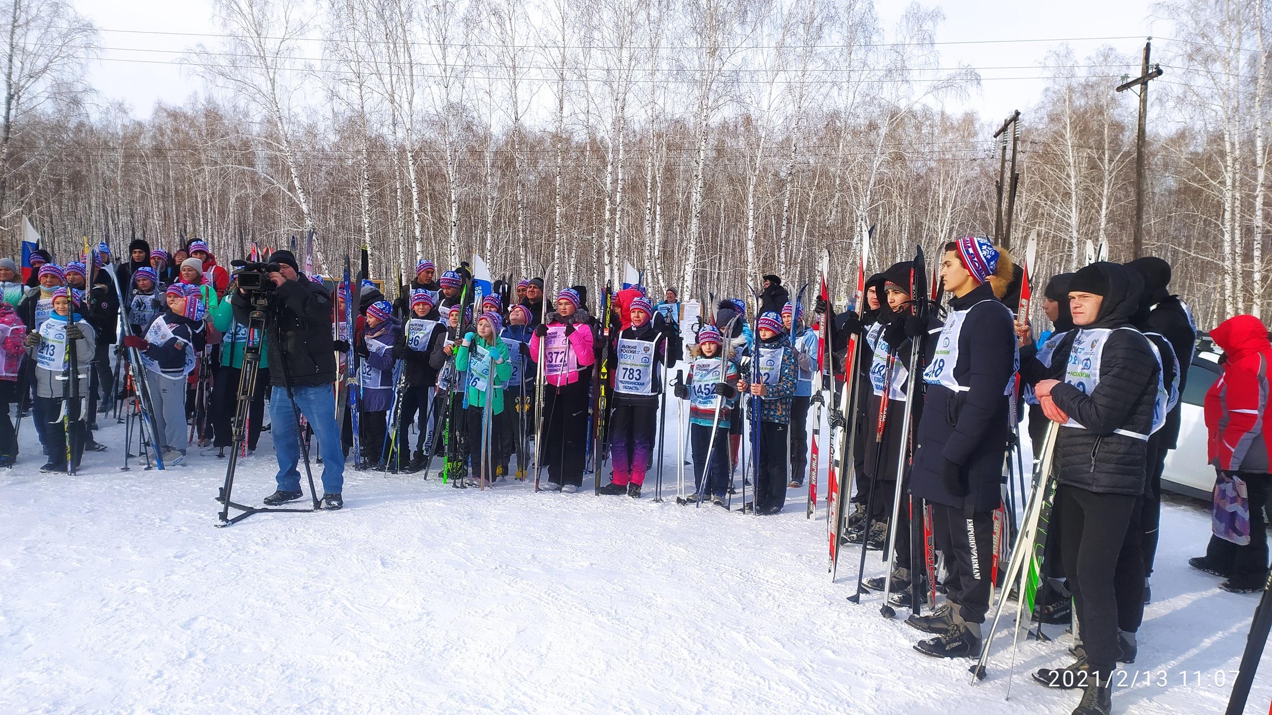 Лыжня России – 2021 в Еманжелинске Результаты
