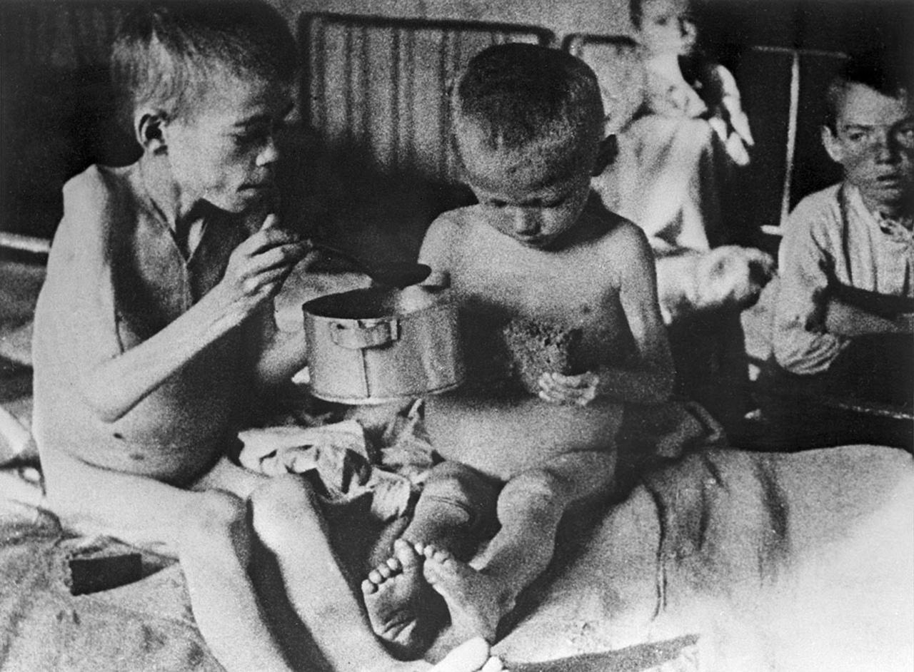Голод и людоедство в СССР, часть вторая