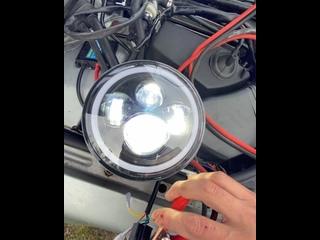 Видео от Авто Киборг. Экокожа, фонари для грузовиков