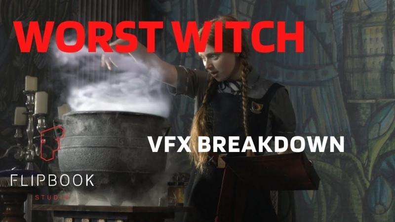Worst Witch Season 4 VFX BREAKDOWN reel