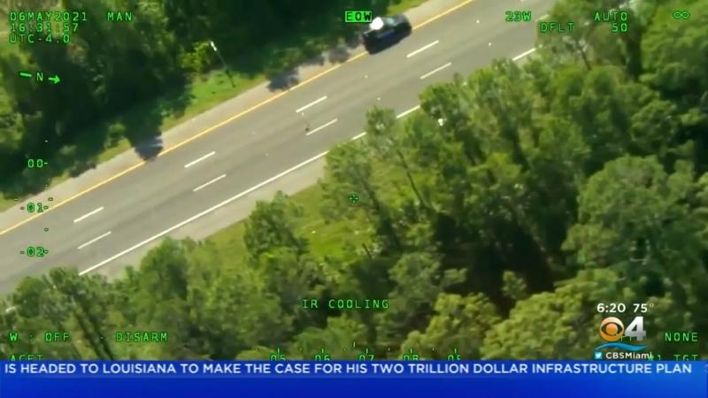 📹 Florida Police Chase Involved Man Who Stole Police Cruiser