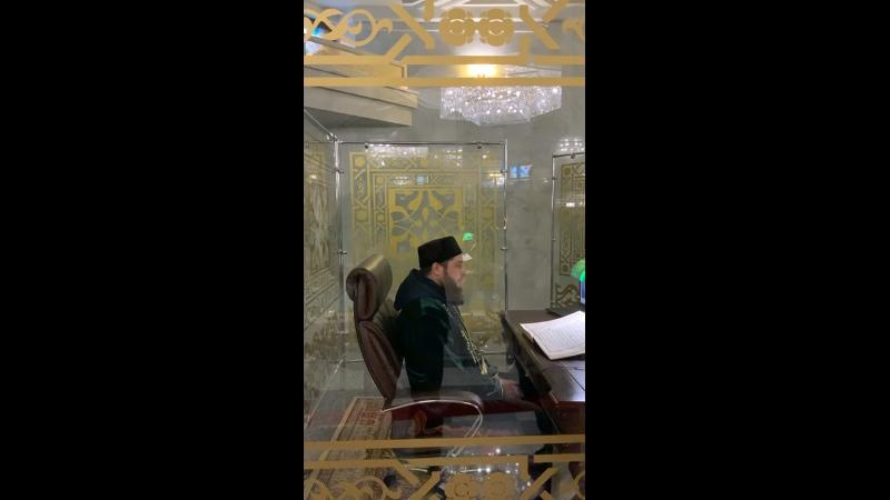 Чтение Корана в мечети Кул Шариф Казань