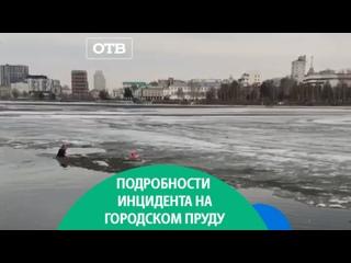 Подробности спасения ребёнка на городском пруду Екатеринбурга
