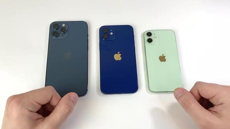 Какого цвета iPhone 12, mini, Pro, Pro Max выбрать