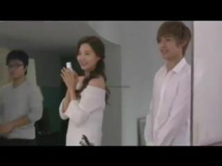 [HD] 120307 SNSD Seohyun и  Kim Hyun Joong - Съемки The Face Shop
