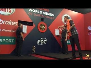 Benito van de Pas vs Phil Taylor (PDC World Series of Darts Finals 2016 / Quarter Final)