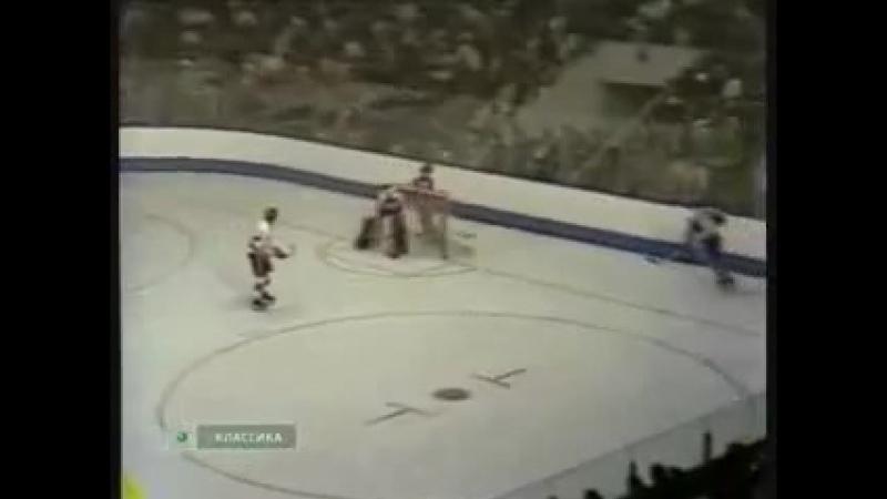 1974 г Хоккей Суперсерия Матч 1 Канада ВХА СССР 3 3