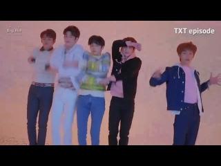 [EPISODE] TXT (투모로우바이투게더) '어느날 머리에서 뿔이 자랐다 (CROWN)' MV Shooting Sketch  | THIS IS TXT, BITCH!