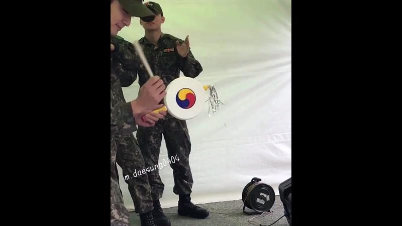 20 22 09 19 Дэсон на военном фестивале 2019 Igija Festival в Хвачоне