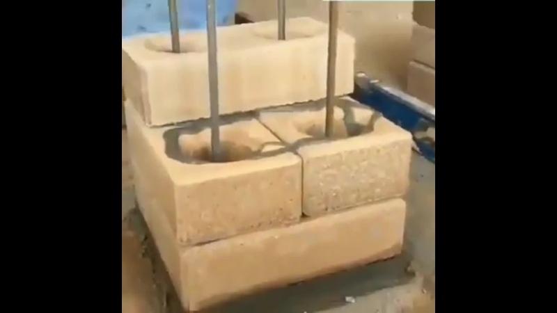 Строим своими руками кирпичный столб - Строим дом своими руками