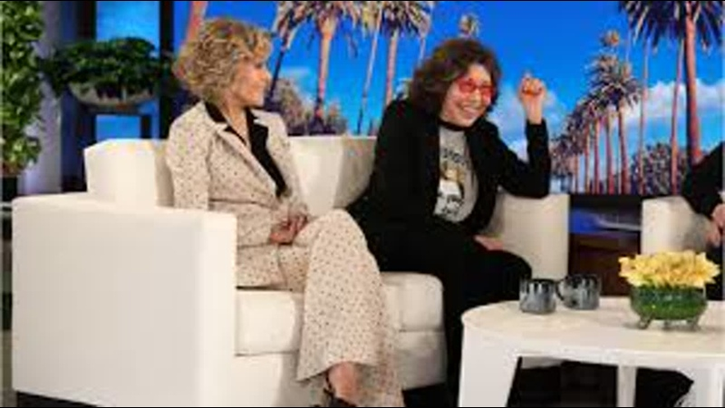 Лили Томлин и Джейн Фонда не стесняются рассказать о скандальных предметах из Грейс и Фрэнки