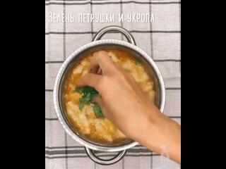 Картофельный супчик с клёцками   Очень простой в приготовлении! Отлично подойдёт, как для обеда, так и для лёгкого ужина!!!