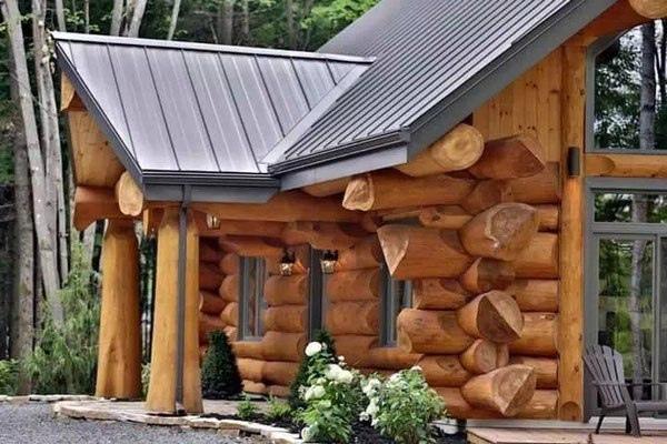 Дом из рубленного бревна