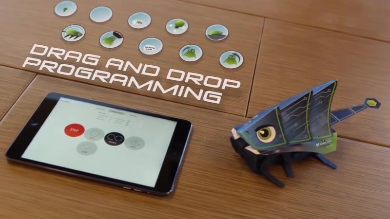 Kamigami ваш собственный оригами робот похожий на таракана