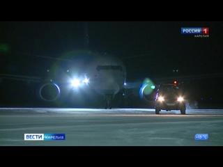 Артур Парфенчиков: самолеты из Петрозаводска в Москву должны летать три раза в день