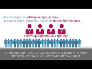 «Фабрика процессов» поможет внедрить мировые практики на предприятиях Красноярского края