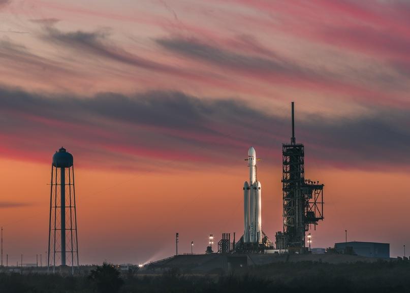 NASA выбрало Falcon Heavy для запуска геостационарного спутника GOES-U