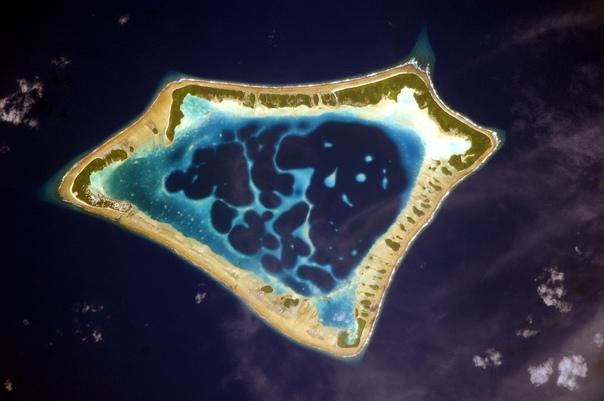 Фотографии из космоса с МКС Фёдора Юрчихина