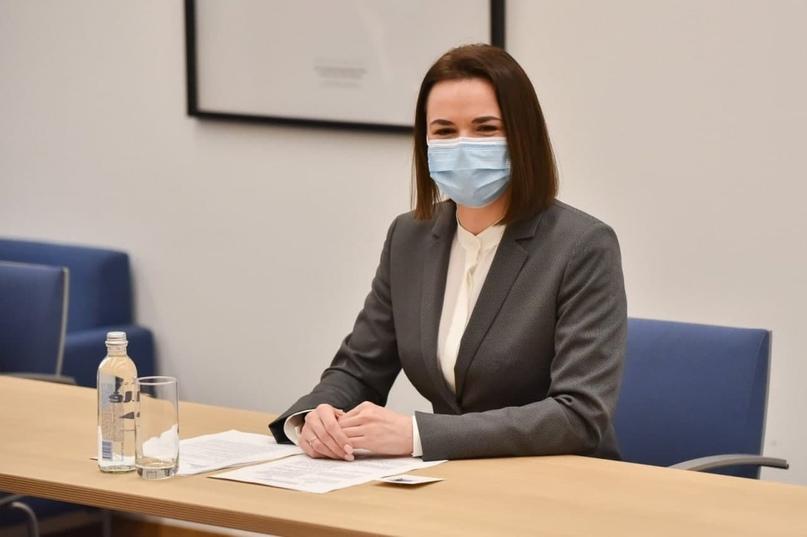 «Беларусы должны иметь доступ к вакцинам»: Тихановская обратилась к Еврокомиссии