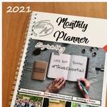 2021 EM Monthly Planner Updated // Обновленный Еженедельник EnglishMag на 2021 год