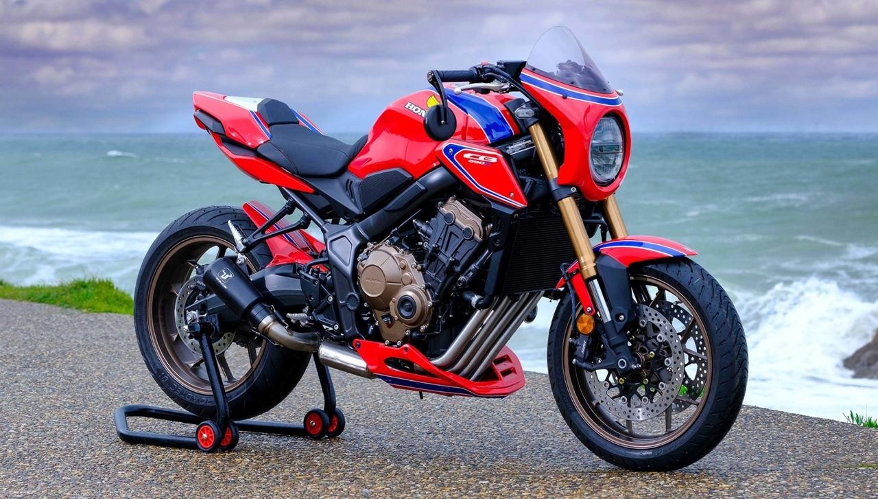10 кастомов Honda CB650R