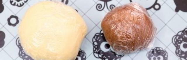 """Как сделать детское печенье """"Барашки"""" из песочного теста"""