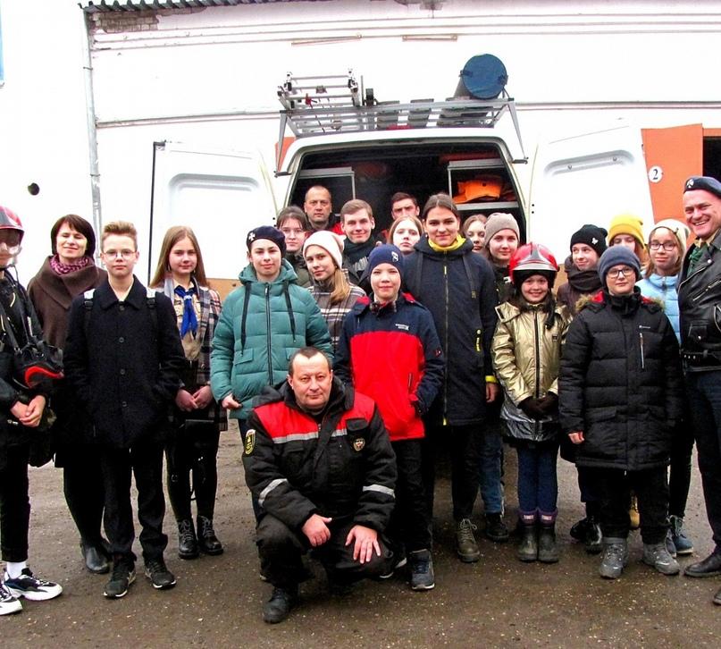 Костромские скауты в гостях у спасателей в в Городском Центре гражданской защиты