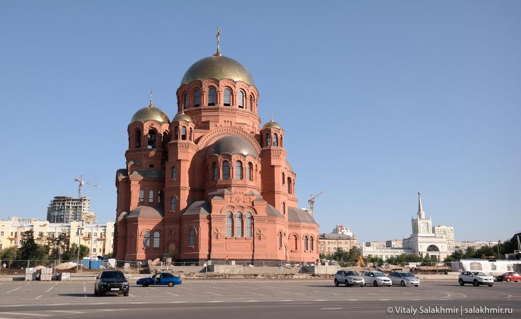 Александро-Невский собор, строительство в Волгограде