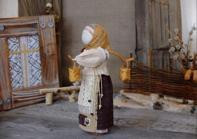 Как сделать славянскую куклу Берегиню своими руками